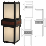 Arroyo Craftsman TOB Tottenham Outdoor Lamp Sconce