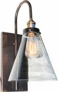 Artcraft AC10169 Greenwich Copper Brown Lighting Sconce