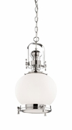 Artcraft AC10243CH Victoriaville Nautical Chrome Mini Pendant Lighting Fixture