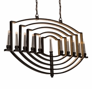 Artcraft AC10251OB Preceptions Contemporary Dark Espresso Halogen Kitchen Island Light Fixture