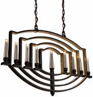 Artcraft AC10259OB Preceptions Contemporary Dark Espresso Halogen Kitchen Island Lighting