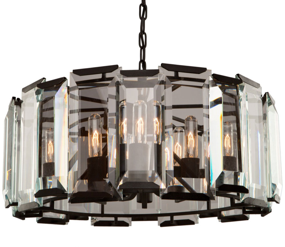Artcraft ac10269 palisades modern matte black chandelier lighting artcraft ac10269 palisades modern matte black chandelier lighting loading zoom aloadofball Images