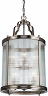 Artcraft AC10288 Bankroft Satin Nickel Foyer Light Fixture