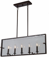 Artcraft AC10304OB Harbor Point Contemporary Oil Rubbed Bronze Kitchen Island Light Fixture