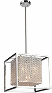 Artcraft AC10325 Vega Stainless Steel Halogen Pendant Lighting Fixture