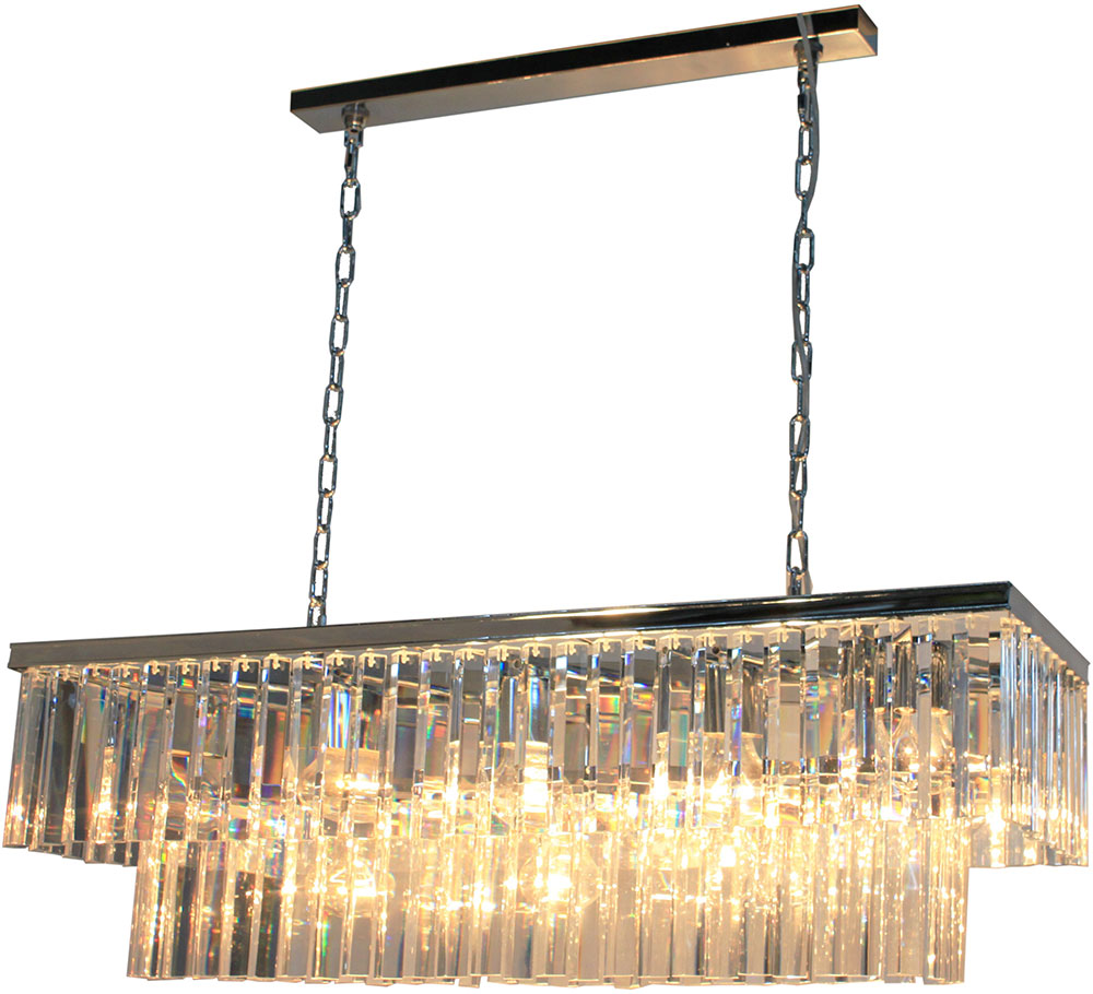 Artcraft AC10407CH El Dorado Chrome Kitchen Island Light Fixture ...