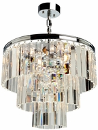Artcraft AC10409CH El Dorado Chrome Mini Chandelier Lighting
