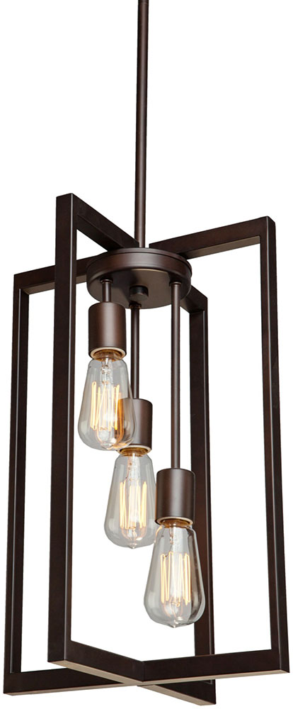 Contemporary Foyer Lighting : Artcraft ac gastown contemporary oil rubbed bronze