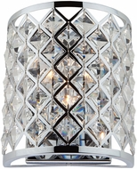 Artcraft AC10427 Lattice Chrome Wall Sconce Lighting