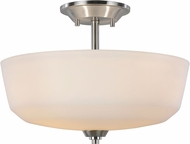 Artcraft AC10468BN Hudson Brushed Nickel Ceiling Light Fixture