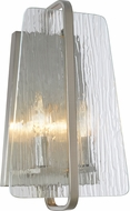 Artcraft AC10472BN La Traviata Modern Brushed Nickel Sconce Lighting
