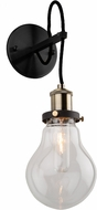 Artcraft AC10480 Edison Light Sconce