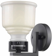 Artcraft AC10501BK Franklin Black Lamp Sconce