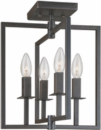 Artcraft AC10724OB Allston Contemporary Oil Rubbed Bronze Ceiling Light