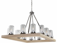 Artcraft AC10842LC Canyon Creek Modern Authentic Pine Chandelier Lighting