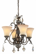 Artcraft AC1464 Vienna Bronze Mini Lighting Chandelier