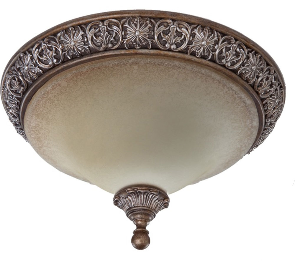 Artcraft Ac1465 Vienna Bronze Flush Mount Ceiling Light
