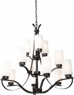 Artcraft AC1590OB Russell Hill Oil Rubbed Bronze Lighting Chandelier