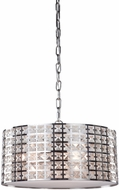 Artcraft AC193 Coventry Modern Chrome Drum Drop Ceiling Lighting