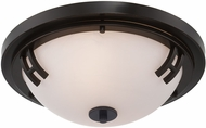 Artcraft AC2331OB Andover Oil Rubbed Bronze Flush Mount Lighting
