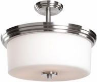 Artcraft AC4393PN Russell Hill Polished Nickel Home Ceiling Lighting