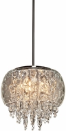 Artcraft AC445 Malibu Chrome Halogen Drop Lighting Fixture