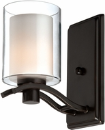 Artcraft AC5731OB Andover Contemporary Oil Rubbed Bronze Halogen Wall Mounted Lamp
