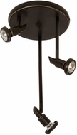 Artcraft AC5839OB Shuttle Contemporary Oil Rubbed Bronze Halogen Ceiling Spot Light