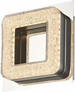 Artcraft AC7161 Park Plaza Chrome LED Wall Sconce