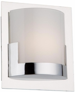Artcraft AC7221CH Rialto Contemporary Chrome LED Light Sconce