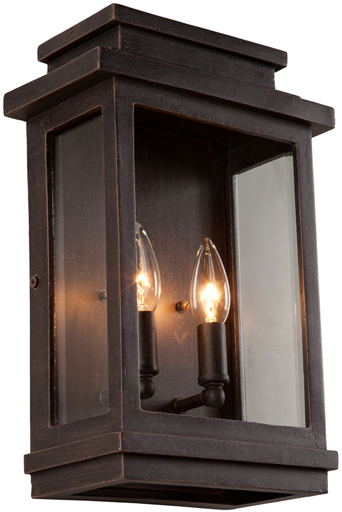 artcraft ac8391orb fremont oil rubbed bronze outdoor light sconce loading zoom