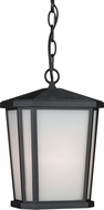 Artcraft AC8775BK Hampton Black Outdoor Pendant Lamp