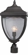Artcraft AC8923BK Oakridge Traditional Black Outdoor Post Lighting Fixture