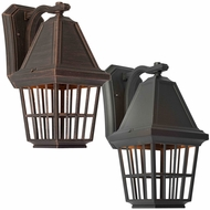Artcraft AC8962 Castille Traditional 16  Tall Exterior Lamp Sconce