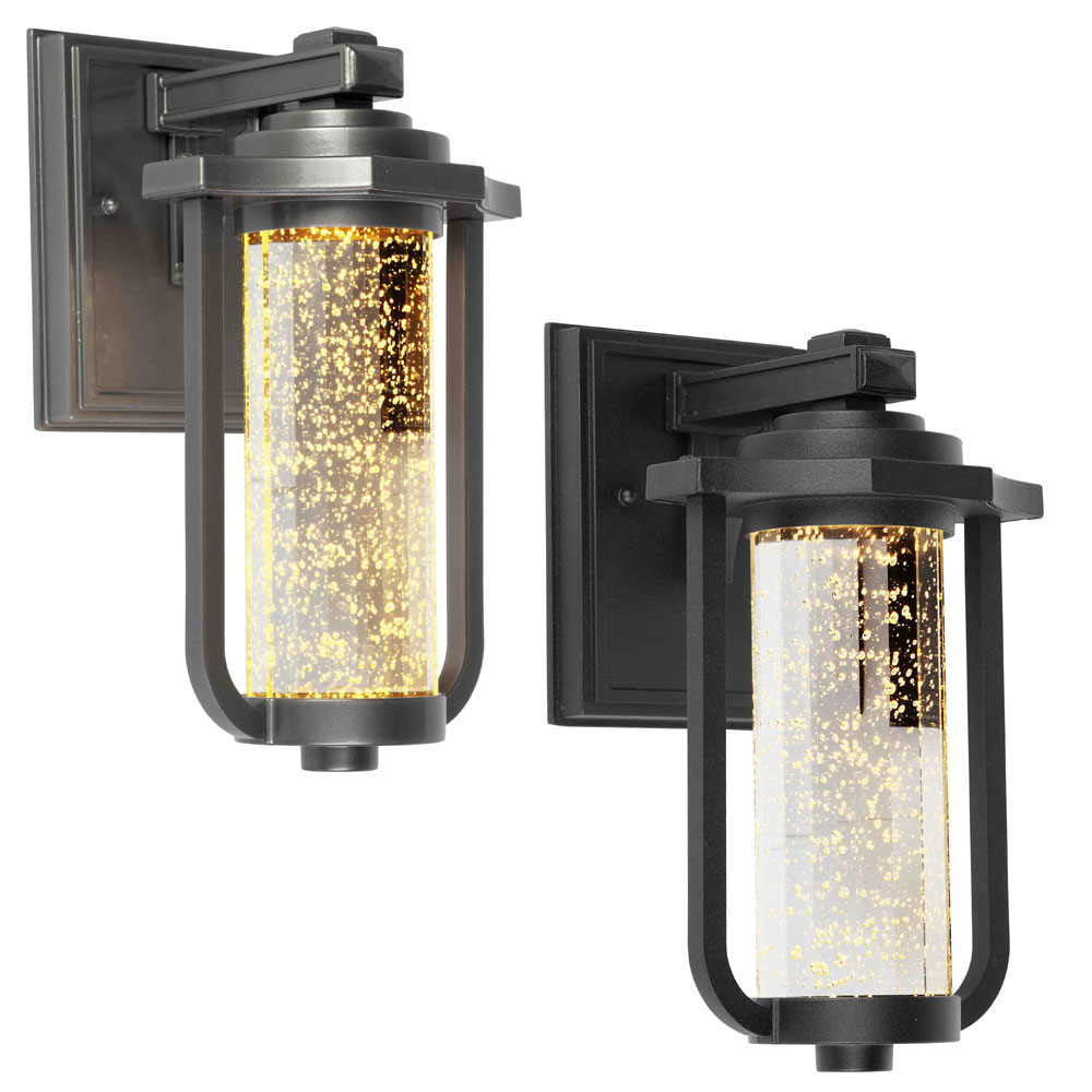 outdoor sconces  hypnofitmauicom - artcraft ac north star traditional  nbsp tall led exterior wall sconcelighting loading zoom