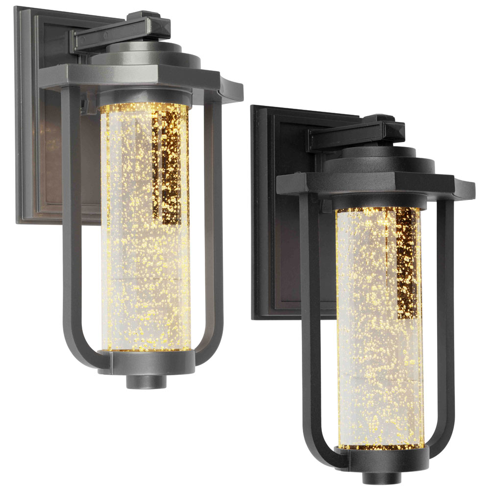 Artcraft ac9012 north star traditional 8 wide led for Led yard light fixtures