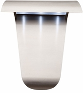 Artcraft AC9031SS Fontana Modern Stainless Steel LED Outdoor Wall Light Fixture