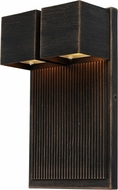 Artcraft AC9032OB Fontana Modern Oil Rubbed Bronze LED Outdoor Wall Lighting Sconce