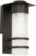 Artcraft AC9042BK Bedford Contemporary LED Outdoor Wall Sconce Light