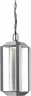 Artcraft AC9105SL Wexford Contemporary Silver LED Exterior Pendant Lighting Fixture