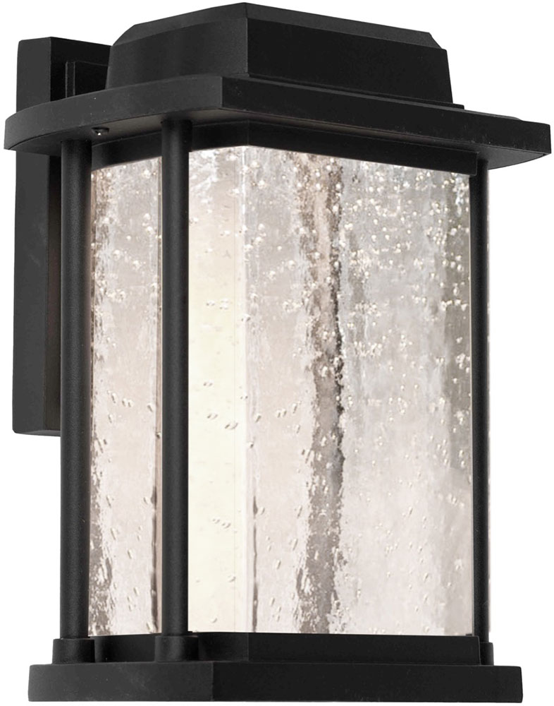 artcraft ac9122bk addison led outdoor wall sconce lighting loading zoom