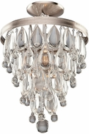 Artcraft CL15002 Pebble Contemporary Halogen Flush Mount Lighting Fixture