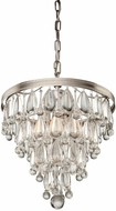 Artcraft CL15004 Pebble Modern Halogen Mini Hanging Chandelier
