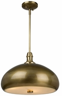 Artcraft CL15042BB Halo Contemporary Burnished Bronze Drop Lighting Fixture