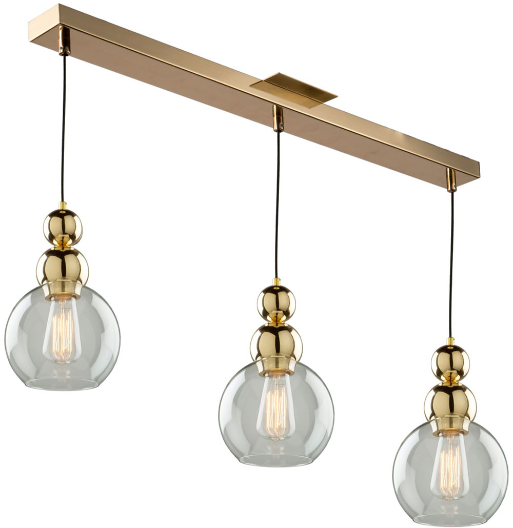 Artcraft ja14012gd etobicoke contemporary gold multi pendant lighting fixture art ja14012gd - Light fixtures chandeliers ...