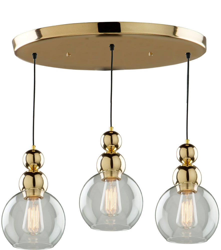 Artcraft ja14013gd etobicoke modern gold multi hanging Modern pendant lighting