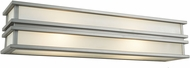 Artcraft SC13006SN Gatsby Contemporary Brushed Stainless Steel Halogen 24 Wall Lighting Sconce