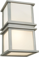Artcraft SC13007SN Gatsby Modern Brushed Stainless Steel Halogen Wall Sconce Lighting