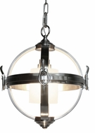 Artcraft SC13021BN Pharmacy Modern Brushed Nickel 14  Pendant Hanging Light