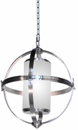 Artcraft SC13023BN Pharmacy Modern Brushed Nickel 25  Drop Lighting